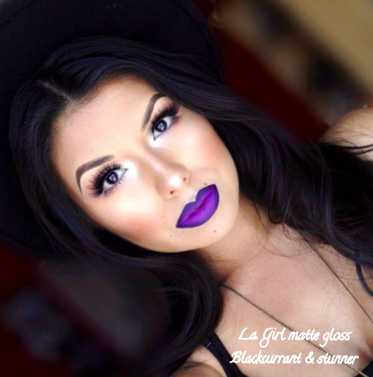 L.a. Girl Matte Gloss Pigment/labial Mate Indeleble