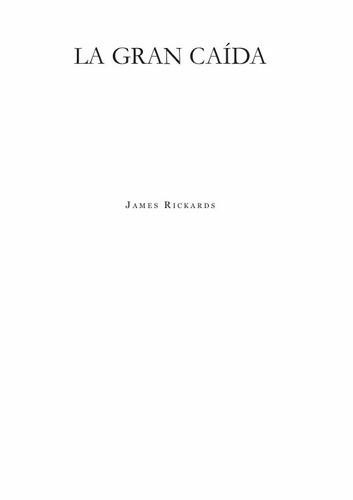la gran caída james rickards libro digital envío por email
