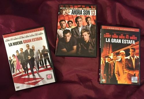 la gran estafa - trilogia completa (3 dvds originales)