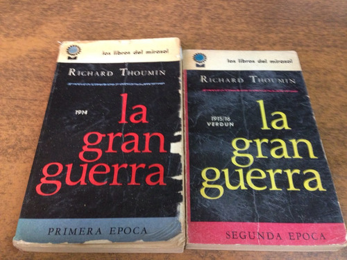 la gran guerra 2 tomos / richard thoumin