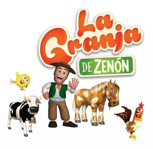 la granja de zenon personajes de peluche 30 cm creciendo