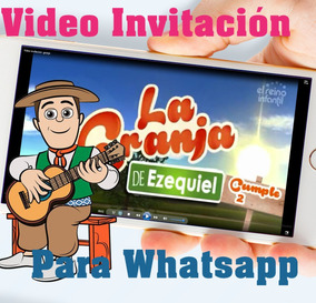 La Granja De Zenon Tarjeta Invitación Digital Vídeo Animado