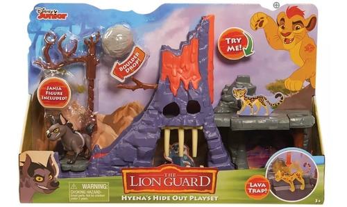 la guarida de hienas el rey leon