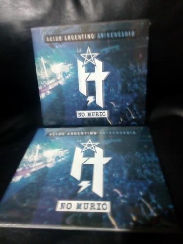 la h no murio acido argentino dvd nuevo original sellado