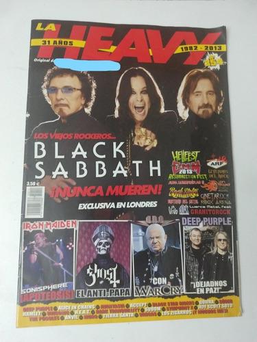 la heavy 354 black sabbath deep purple ghost metallica