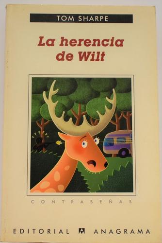 la herencia de wilt - tom sharpe