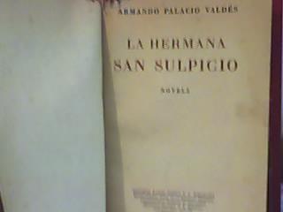 la hermana san sulpicio-armando palacio valdes-reunidas-1947