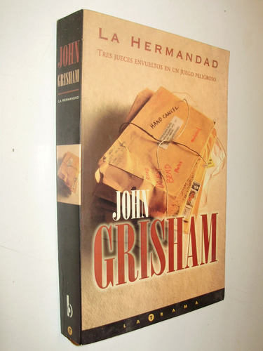 la hermandad john grisham ediciones b arg 1a. edic. 2000