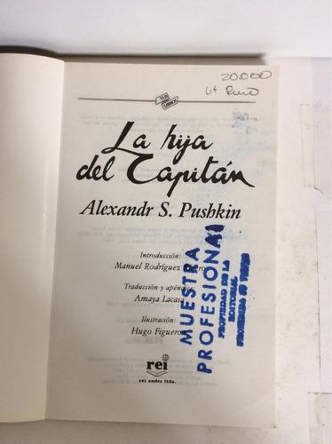 la hija del capitan, por alexandr s. pushkin