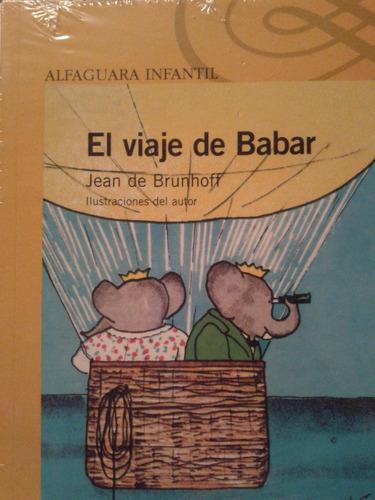 la historia de babar  alfaguara infantil