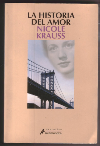 la historia del amor - nicole krauss