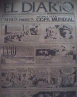 la historia del mundial de futbol en comics vdh cth