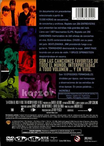 la historia del rock ' n ' roll volumen 1 documental dvd