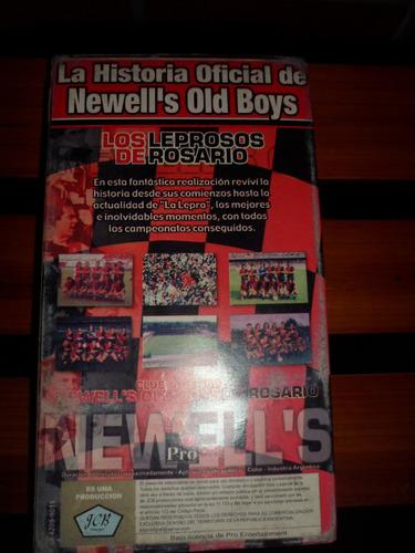 la historia oficial de newells vhs usado