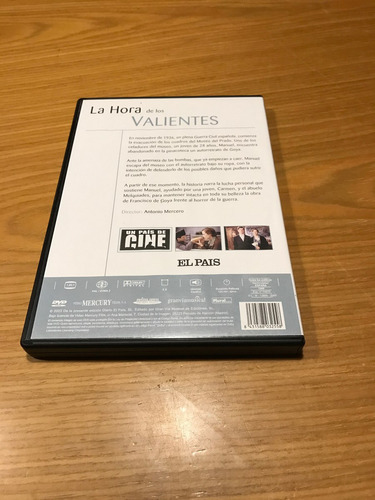la hora de los valientes dvd antonio mercero cine español