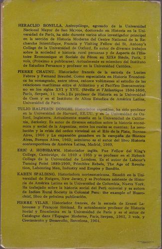 la independencia en el perú / varios autores