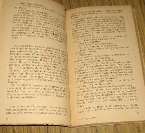 la infanta isabel de borbon : josé maría tavera - 1959