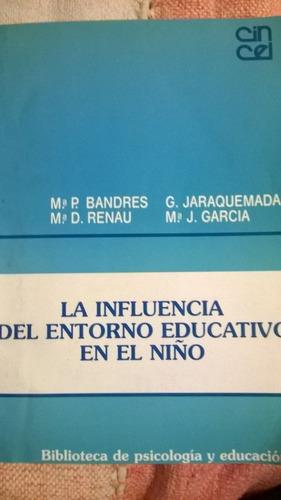 la influencia del entorno educativo en el niño - p. bandres