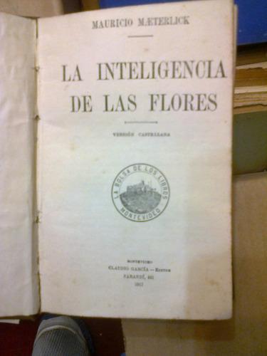 la inteligencia de las flores