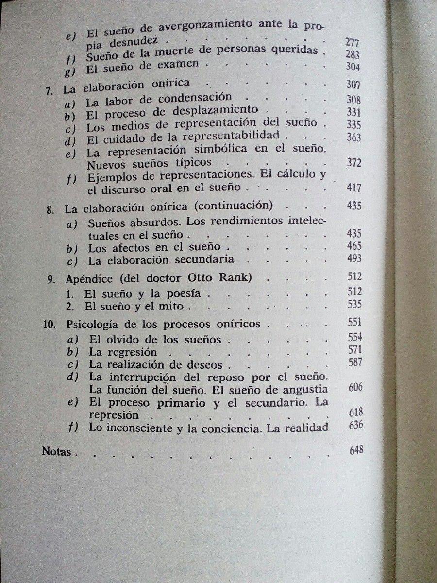 interpretacion de los sueños freud pdf libro