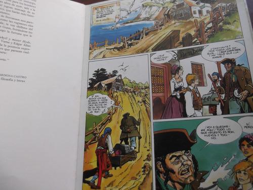 la isla del tesoro robert l. stevenson comic tapa dura brugu