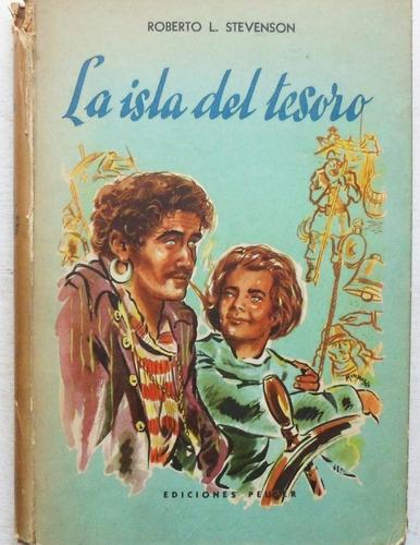la isla del tesoro / stevenson (ed. peuser 1958)