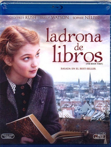 la ladrona de libros the book thief pelicula blu-ray