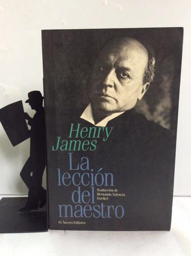 la lección del maestro, henry james