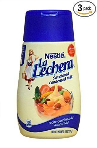 la lechera leche condensada (pack de 3)