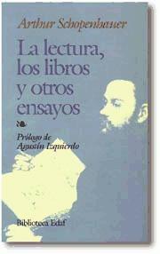 la lectura, los libros y otros ensayos(libro filosofía)
