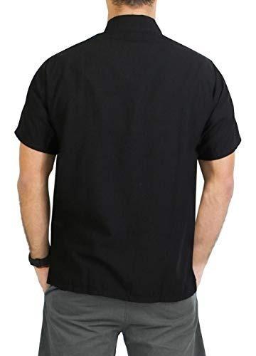 la leela aloha camisa hawaiana de mangas cortas con botones