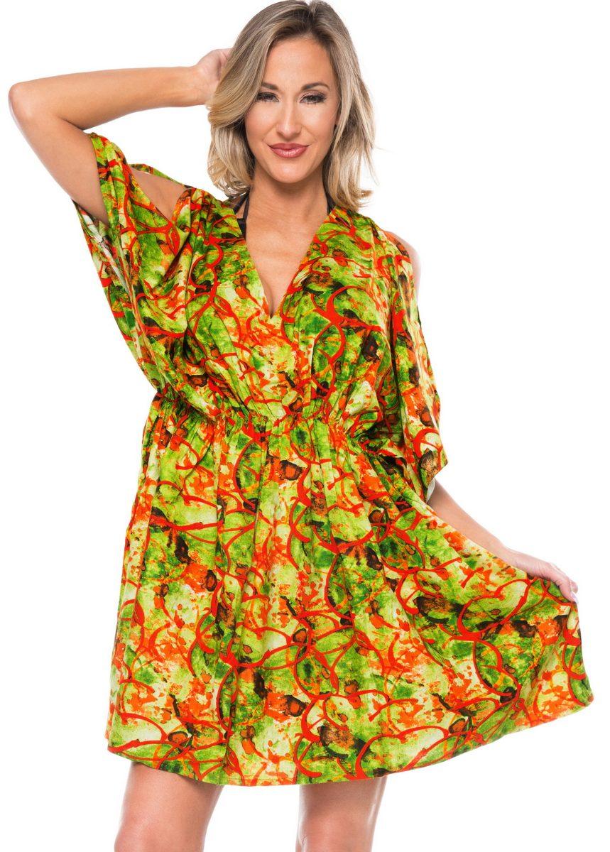 5a98a2357 la leela beach trajes de baño blusa bikini cubrir vestido d. Cargando zoom.