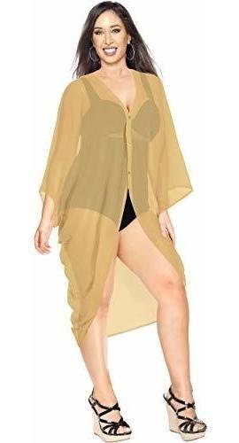 la leela blusa kimono suelta para mujer para verano playa bi