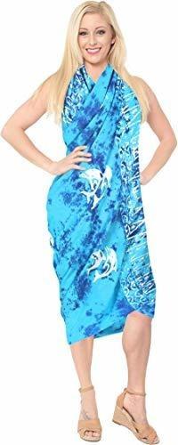 la leela para mujer boho chal toallas de playa sarong envolv