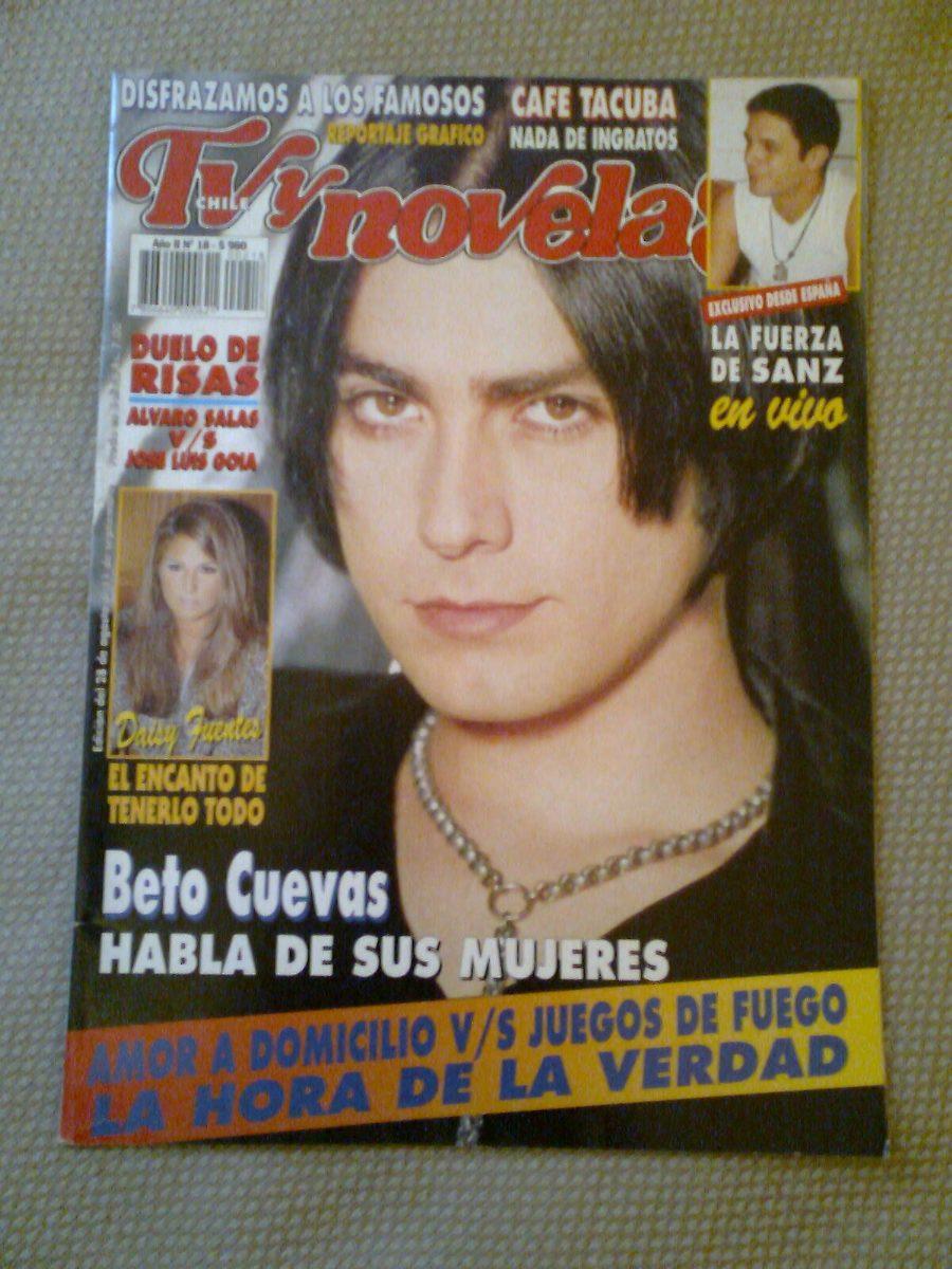 La Ley Beto Cuevas Revista Tv Y Novelas Chile Agosto 1995 ...