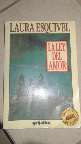 la ley del amor libro+disco laura esquivel