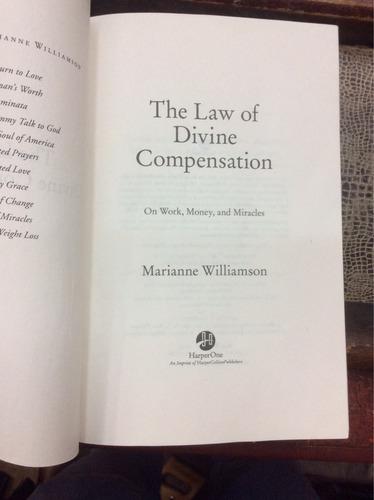 la ley divina de la compensación-m.williamson (en ingles)