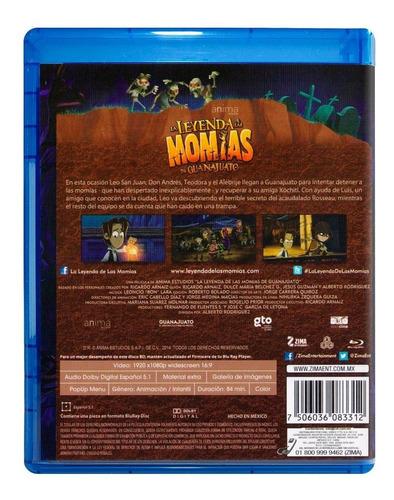 la leyenda de las momias de guanajuato pelicula blu-ray