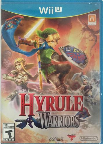 la leyenda de zelda / hyrule warriors (wii u) fisico - usado