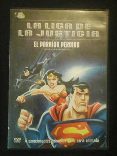 la liga de la justicia paraiso perdido dvd