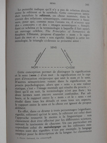 la linguistique a martinet. alphabetique mediations. frances