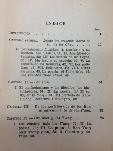 la literatura china - kaltenmark ghequier - ed. surco