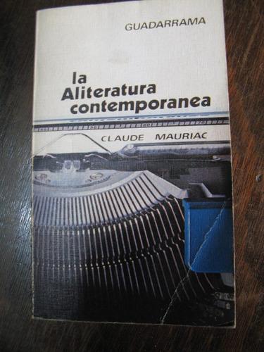 la literatura contemporánea. claude mauriac