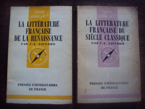 la litterature franceise de la renaissance siecle classique