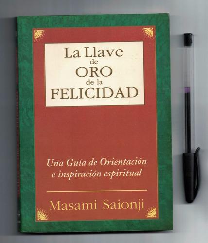 la llave de oro de la felicidad masami saionji envios