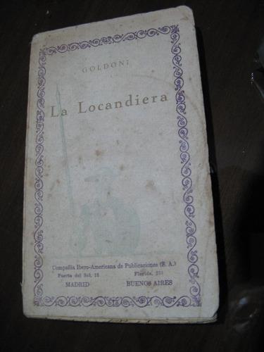la locandiera. goldoni