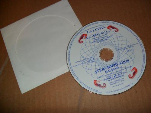 la lupita al caer el mall cd sencillo promo
