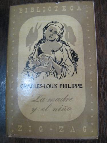 la madre y el niño. charles louis philippe