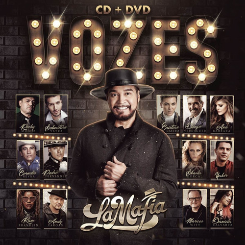 la mafia vozes cd + dvd umm 2018 nuevo