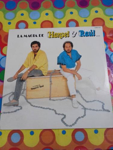 la magia de hanzel y raúl lp y su orquesta 1986